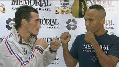 Boxe tem duelo entre Brasil e Argentina no Torneio Luvas de Ouro - Torneio ocorre no Ginásio Antônio Guenaga, em Santos, no litoral de São Paulo.