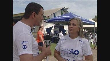 Ação Global acontece hoje, em Ji-Paraná - O evento é uma parceria entre a Globo e o Sesi.