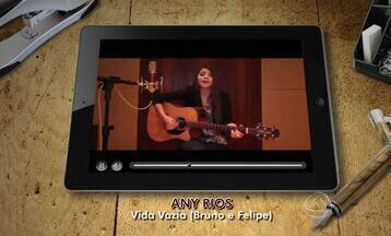 Vídeos da Internet: Any Rios solta voz no É Bem MT - Vídeos da Internet: Any Rios solta voz no É Bem MT