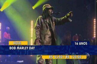 Confira as dicas da Agenda Cultural para este fim de semana - Entre opções está o Bob Marley Day, no Wet'n Wild.