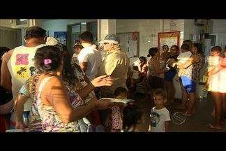 Muita gente procurou os postos de saúde à procura da Campanha de Vacinação contra a gripe - Muita gente procurou os postos de saúde à procura da Campanha de Vacinação contra a gripe