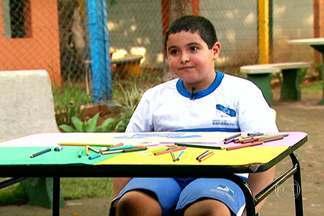 Crianças de Ribeirão Preto se preparam para receber jogadores da seleção da França - O SPTV visita as 12 cidades do estado que irão hospedar as seleções estrangeiras que participarão da Copa do Mundo para saber o que as crianças conhecem sobre os outros países.