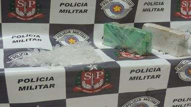 PM apreende 2 quilos de pasta base de cocaína e 260 embalagens em Rio Pardo, SP - PM apreende 2 quilos de pasta base de cocaína e 260 embalagens em Rio Pardo, SP.