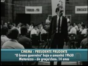 Mostra Nacional de Cinema tem início em Presidente Prudente - Veja atrações da 'Agenda Cultural'.