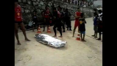 Corpo de turista mineiro que sumiu no mar de Guarapari é encontrado - Jovem de 23 anos desapareceu na Praia do Morro na quinta-feira (1).Prefeitura disse que vai reforçar número de salva-vidas no próximo feriado.