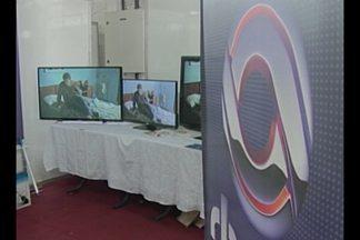 RBS TV faz demonstração do sinal digital na Feira de Negócios e Industrias de Ijuí, RS - A Fenii encerra neste domingo.