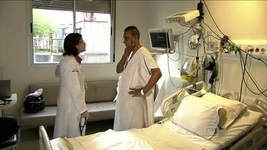 Número de transplantes de órgãos diminui no começo desse ano - A queda preocupa os brasileiros que aguardam por um final feliz como o que mostra o repórter Tiago Eltz.