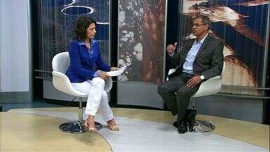 Secretário fala sobre o início dos jogos e obras da Copa em Cuiabá - A Secopa fala sobre os preparativos para o início dos jogos da Copa em Cuiabá.