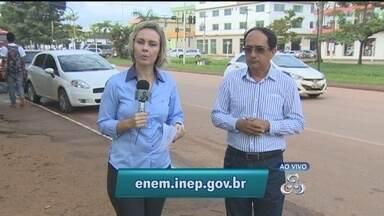 Inscrições para o Exame Nacional do Ensino Médio, em todo o Brasil - O teste funciona como critério de ingresso para as principais universidades públicas e privadas do país.