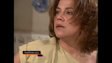 Vivianne Pasmanter pede para ver cena de Uga Uga - Atriz arrasou na novela de 2000