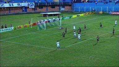 ASA é eliminado da Copa do Brasil após perder para o Avaí por 2 a 1 - Partida aconteceu no Estádio da Ressacada, em Florianópolis.