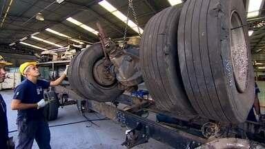 Saiba como as peças de caminhão podem ser recicladas - Veja como as peças de caminhões são reaproveitadas, de forma legal. O segmento está mais adiantado que o de automóveis.