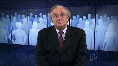 """""""Governo brasileiro é uma chanchada, mas pode virar tragédia"""", comenta Jabor - Comentarista diz que a CPI do Senado foi a peça perfeita com atores e figurantes fingindo que acreditavam na proposta. Na comissão, ex-presidente da Petrobras negou que Dilma teria participação na compra da refinaria de Pasadena."""
