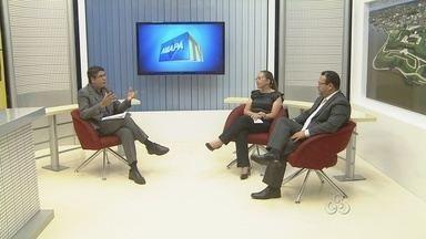 Entrevista com o presidente da OAB, Paulo Campelo e a secretária de saúde de Macapá - Entrevista com o presidente da OAB, Paulo Campelo e a secretária de saúde de Macapá.