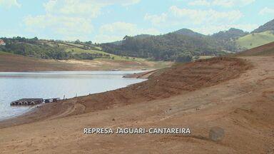 Principal reservatório de água da região registra nível abaixo do normal - O Rio Jaguari em Jaguariúna (SP), principal reserva de água da região de Campinas está com nível muito baixo, além do normal para esse período do ano. A situação preocupa e coloca as cidades em alerta.