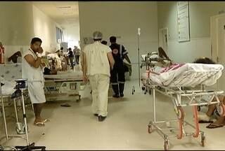 Superlotação nos hospitais de Montes Claros se agrava a cada dia - Um dos agravante é a chegada de pacientes de outros municípias para receber atendimento em Montes Claros.