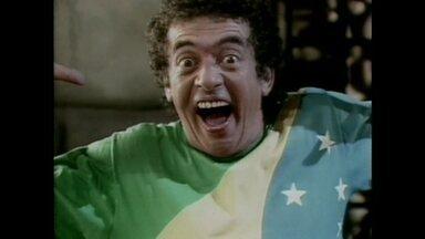 Araquém ficou famoso na Copa de 1986 - Veja momento direto do Baú da Copa