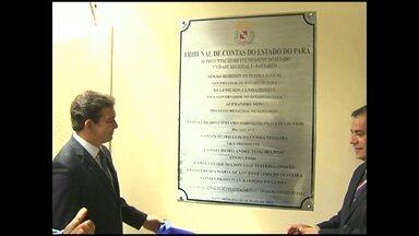 Tribunal de Contas do Estado inaugura unidade em Santarém - Objetivo é interiorizar ações do Estado. Jurisdicionados receberão capacitação técnica.