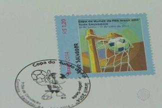 Secretaria de turismo e Correios lançam os selos comemorativos da Copa do Mundo - As imagens das 12 cidades-sede irão estampar os selos; confira.