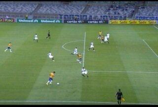 Cruzeiro vence o Sport no último jogo no Mineirão antes da Copa do Mundo - Com a vitória o Cruzeiro assumiu a liderança do Campeonato Brasileiro.