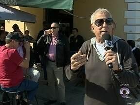 Cacau Menezes vai ao Mercado Público de Florianópolis no último dia em funcionamento - Cacau Menezes vai ao Mercado Público de Florianópolis no último dia em funcionamento