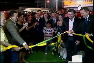"""Começou na quinta-feira (29) a sexta edição da """"Fecou"""" em Ouricuri - Empresas de várias cidades do Sertão apresentam as novidades do mercado na feira."""