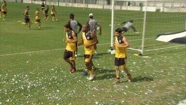 Ceará encerra preparação para enfrentar Sampaio Corrêa - Anderson é novidade no time titular.