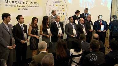 Prêmios da décima edição do Top of Mind são entregues em BH - Prêmio reconhece marcas mais lembradas pelos consumidores.