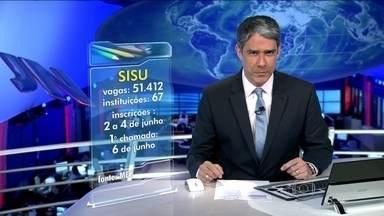 Sisu vai ter mais de 51,4 mil vagas em todo o país no segundo semestre - O sistema seleciona candidatos para universidades públicas com base na nota do Enem. A inscrição vai ser feita só na internet.
