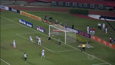 Goleiro falha e Galo perde para o São Paulo no Morumbi - Gol da vitória do São Paulo foi no fim da partida. Josué fez o gol do Atlético-MG.
