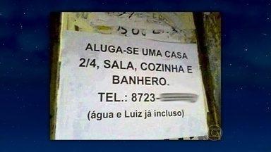 Confira mais uma série de placas divertidas - Tânia Mara e o professor Ronaldo Alves são os convidados da noite