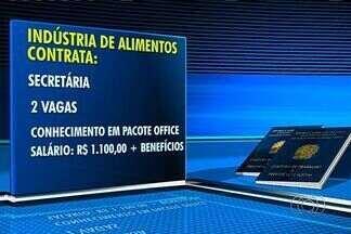 Confira as vagas de emprego em Goiânia - Dentre as oportunidades, há vagas para secretária.