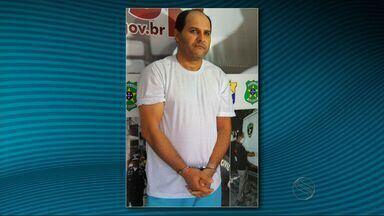 Ex-presidiário, suspeito de chefiar grupo de extermínio, é preso em SE - Grupo tem suspeita de atuação na cidade de Poço Verde.Ex-presidiário é suspeito de 13 homicídios.