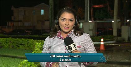 JPB2JP: Divulgado novo relatório sobre a dengue na Paraíba - 5 mortes foram registradas este ano.