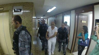 Marcos Valério é interrogado em audiência da Justiça Federal em BH - Sessão foi realizada a portas fechadas, e juíz decretou sigilo do processo. Segundo advogado ação é por sonegação fiscal.