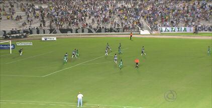 Botafogo-PB vence o Sousa por 3 a 1 em jogo no Estádio Almeidão - Clube de João Pessoa está classificado para as semifinais do Campeonato Paraibano.