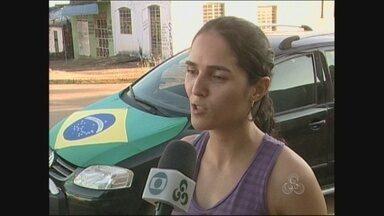 Em Cacoal, motoristas caracterizam carros com as cores da seleção - A Copa do Mundo já iniciou no interior de Rondônia.