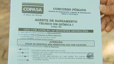 Candidatos ficam sem provas em concurso da Copasa pela 2ª vez - Candidatos ficam sem provas em concurso da Copasa pela 2ª vez