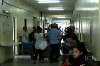 Reforma em hospital prejudica moradores de São Mateus - O Hospital Geral de São Mateus, que está em reforma desde fevereiro, só está atendendo casos de urgência e emergência. Os outros pacientes são encaminhados para os postos da região. Mas eles acabaram ficam superlotados.