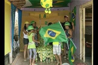 Em Paragominas, moradores se preparam para torcer pela seleção - Mundial também estimula crescimento de vendas e gera emprego no município.