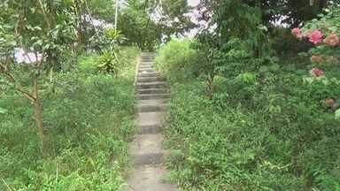 Área verde em Manaus é utilizada para consumo de drogas, dizem moradores - População da Zona Norte afirma que assaltos e até um homicídio já ocorreram na região.