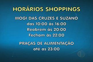Lojistas do Alto Tietê alteram horários de funcionamento nos dias de jogos do Brasil - Os vendedores poderão sair mais cedo, mas em um esquema de compensação.