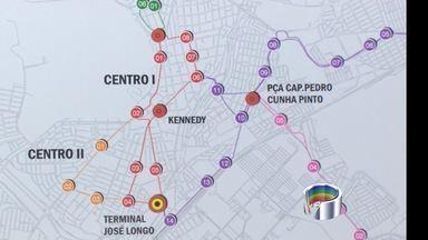 São José assina contrato de R$ 842 milhões para construção do BRT - Previsão é que traçado exclusivo para ônibus fique pronto em 2018. BRT é substituto ao projeto do Veículo Leve Sobre Trilhos (VLT).