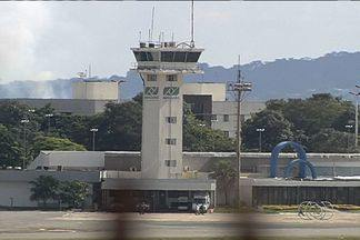 MPF aponta superfaturamento nas obras do aeroporto de Goiânia - Órgão também diz que existem falhas no contrato entre construtoras e Infraero.MPF pede que as empresas devolvam o dinheiro aos cofres públicos.