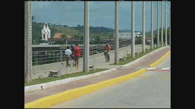 Em Palmares, segunda-feira foi de comemoração pelo aniversário da cidade - Área do município que foi destruída pela enchente há quatro anos foi recuperada e se tornou um novo espaço de lazer.
