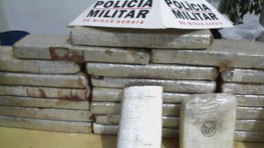 Casal é preso com 25 kg de drogas enterrados no quintal em Itajubá, MG - Casal é preso com 25 kg de drogas enterrados no quintal em Itajubá, MG