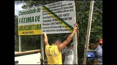 Homem reivindica área destinada a ribeirinhos - Incra conseguiu terras para vítimas do fenômeno terras caídas.