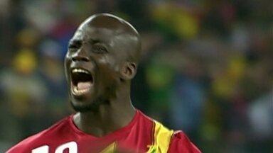 Saiba mais sobre a seleção de Gana - Os ganeses chamaram a atenção nas duas últimas Copas pela alegria.