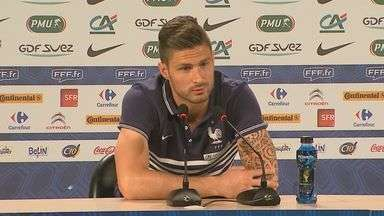Seleção francesa faz a primeira entrevista coletiva em Ribeirão Preto - O assunto principal foi como lidar com a ausência de Frank Ribéry