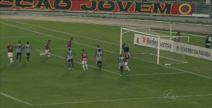 Campinense e Botafogo empatam no Estádio Amigão por 2 a 2 - Desfalcado e já classificado para as finais, Botafogo vai a Campina Grande enfrentar o Campinense. O Alvinegro abriu 2 gols de vantagem, mas sofreu empate da Raposa que só precisa de um empate para chegar à semifinal
